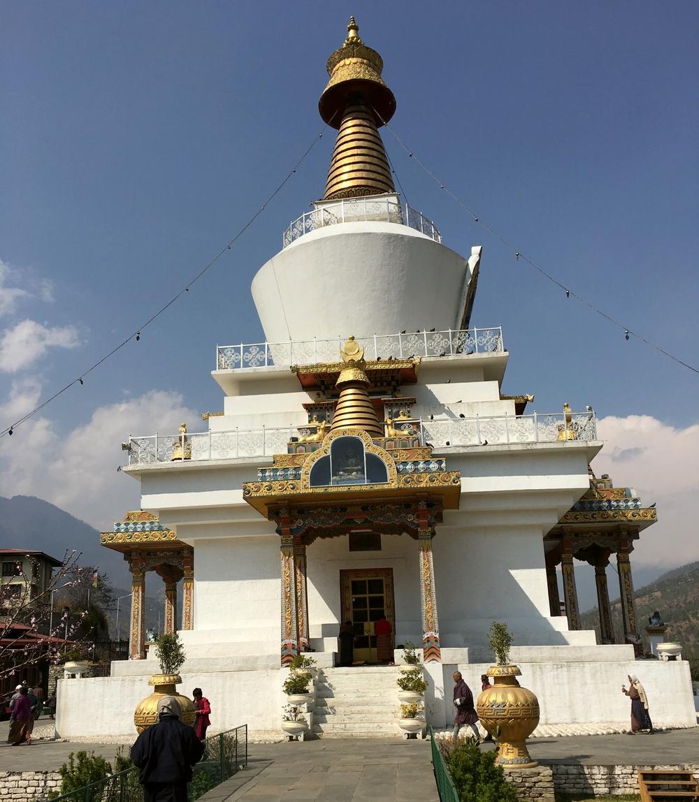Thimpun Chorten temppeli