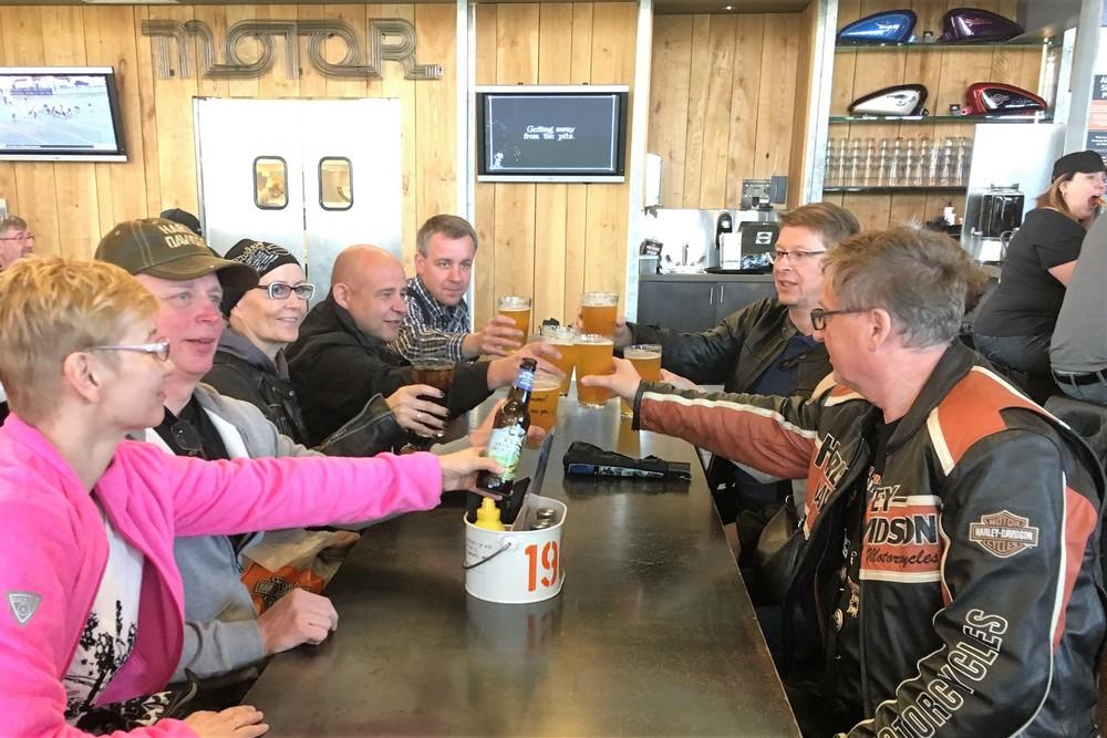 Wisconsin tunnetaan oluen ja juuston osavaltiona!