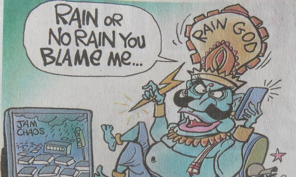 Intiassa riittää jumalia joka asialle, myös säälle on omansa! Kuinka monta jumalaa hinduismissa tarkalleen on? Sitä ei tiedä kukaan hindukaan!
