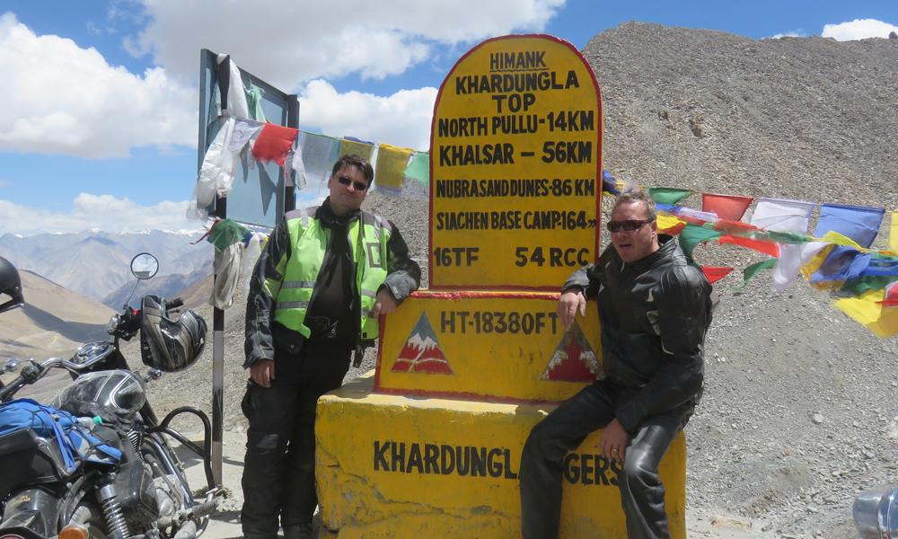 Johan & PikkuJuha Himalayan katolla!