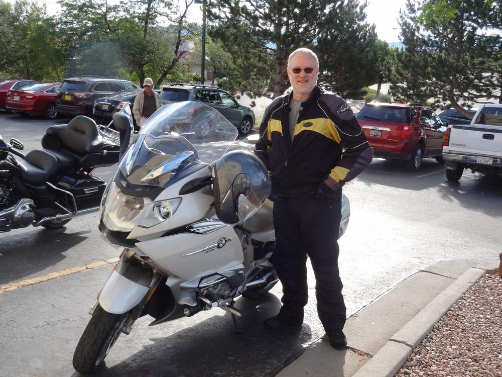 Steve Mahon lähdössä kotimatkalle kohti Colorado Springsiä.