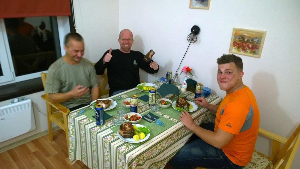 Venäjällä muutenkin on erinomainen ruoka ja makunystyröitä kutkuttavia kokemuksia saa monesta paikasta!