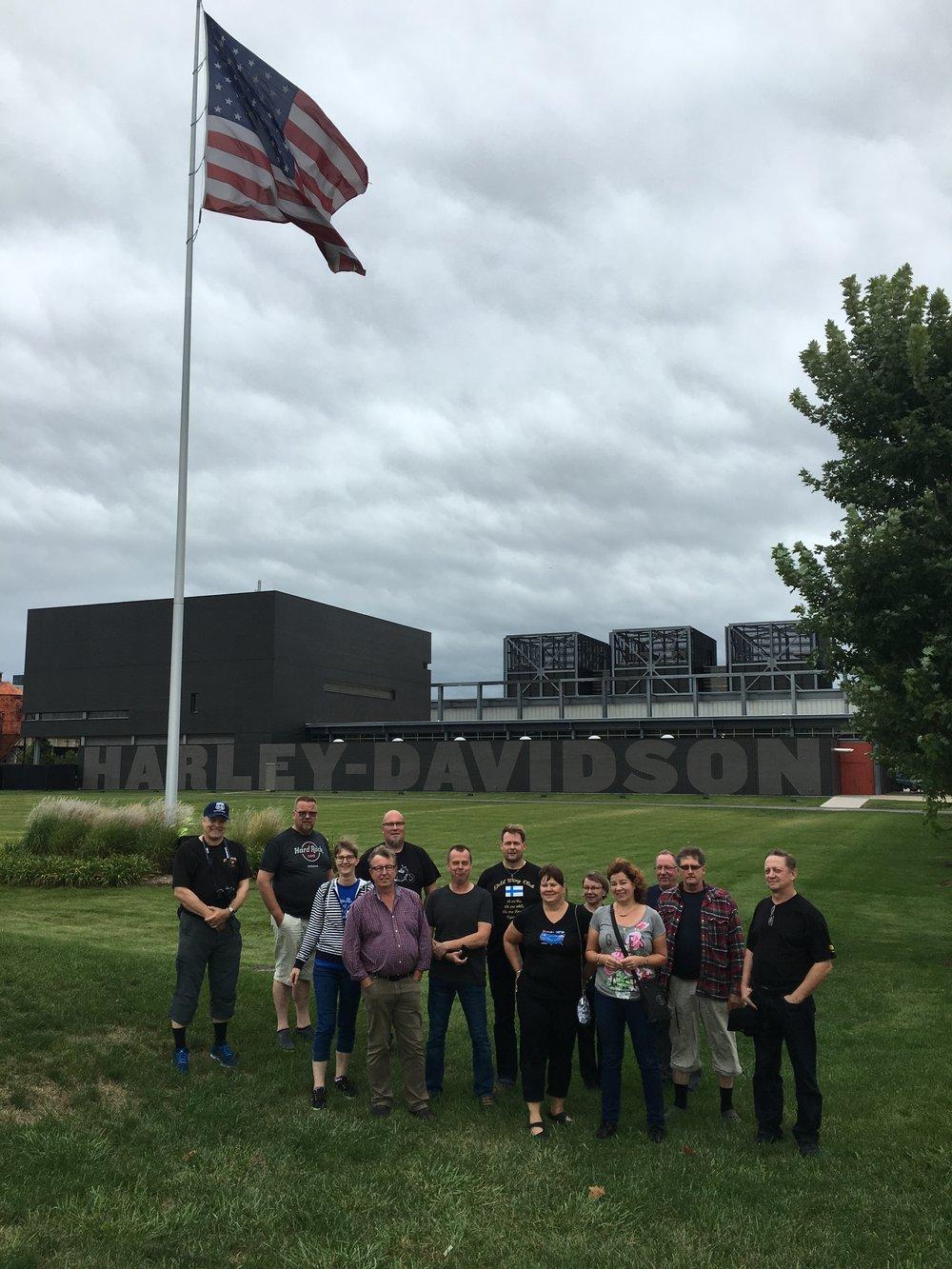 Ryhmä Milwaukeessa, HD Museumilla.