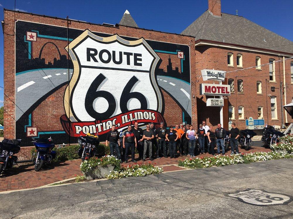 Pontiac ja Route66 museo.