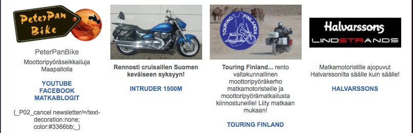 #biketeam #halvarssons #touringfinland