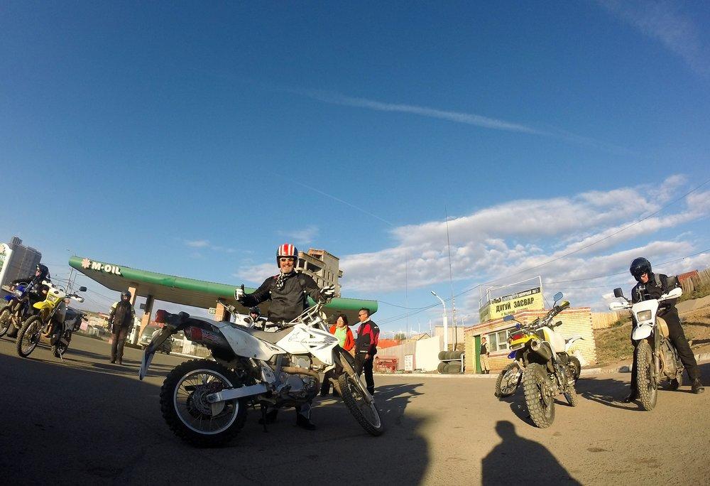 Pyörät jaettu ja matka voi alkaa!