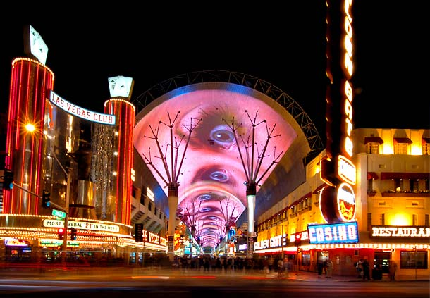 Fremont Street Experience, Las Vegas.