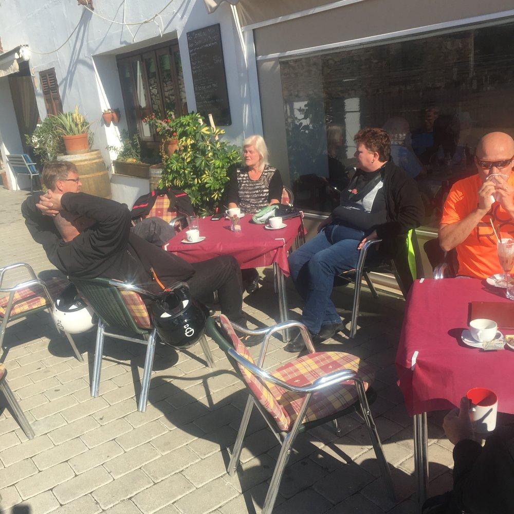 Kahvitauko Frigilianassa