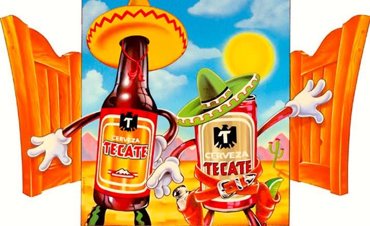 Tästä Tecate tunnetaan. Ainakin kaikkialla Mexicossa :)