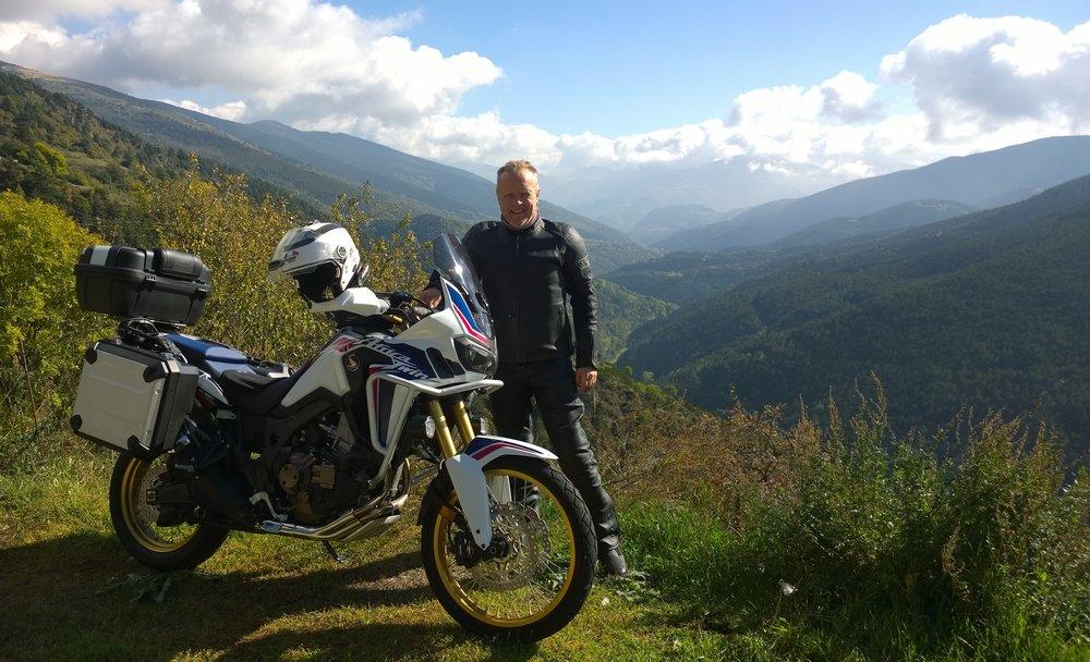 Matti lähetti eilen kuvan Pyreneiden ylityksestä!