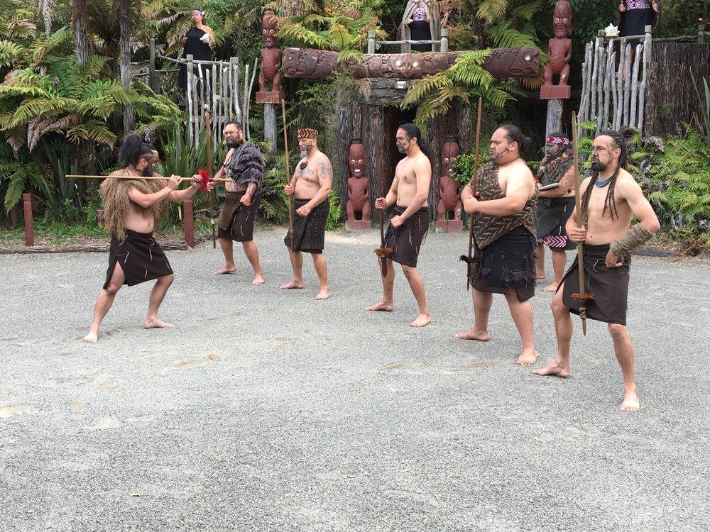 Tervetuloa Maori kylään