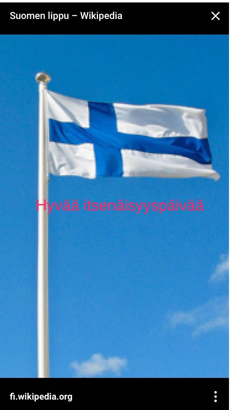 Suomen Itsenäisyyspäivä. Pertti ja Ulla olivat tuoneet kynttilät koto-Suomesta mukanaan, jotka sytytettiin asianmukaisin juhlamenoin juhlaillallisella... Mutta aloitetaan aamusta...