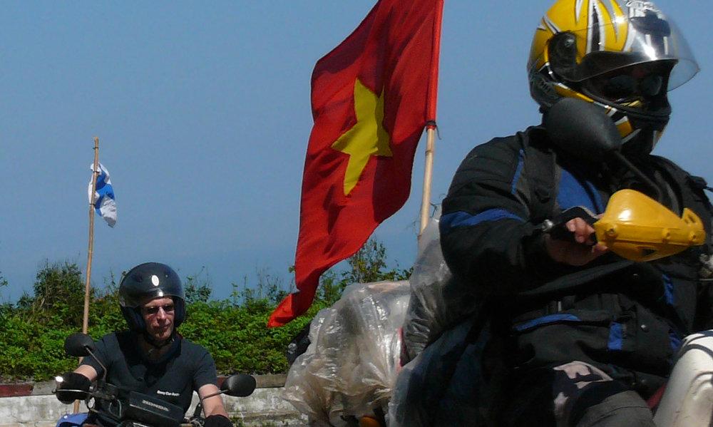 Vietnam moottoripyörämatka