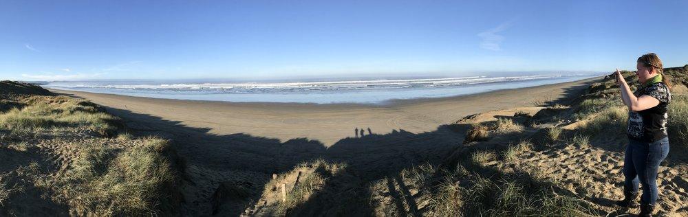 Varjot Ninety Mile Beachilla ;)