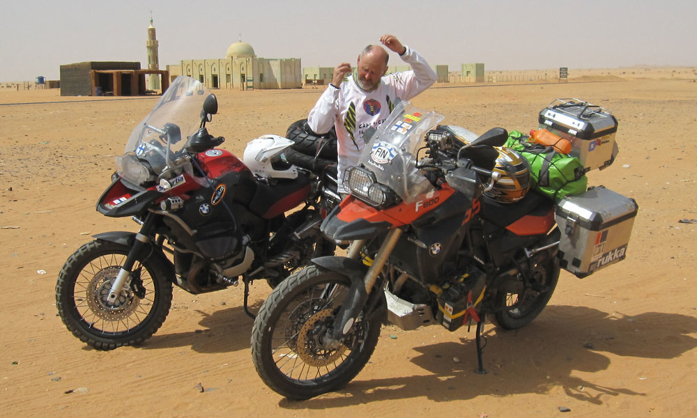 VSS 12 | Trans Africa  Peter 2010 09 Jari 2010 09