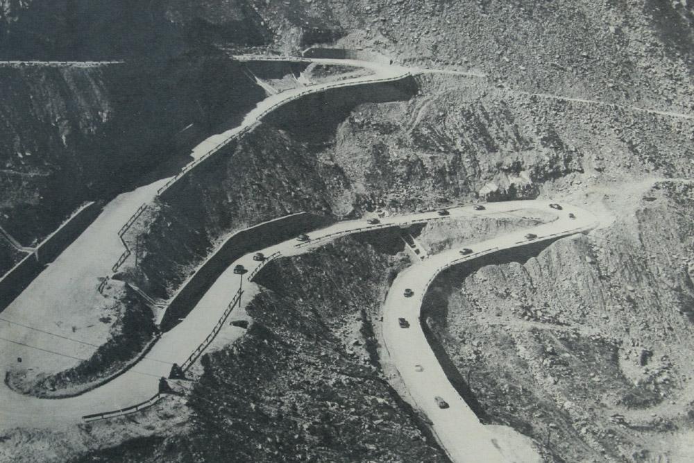 Transfagarasan vuonna 1974 (avajaiset)