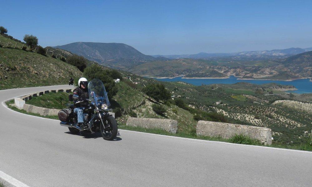 Rondan ja El Basquen välisiä maisemia!