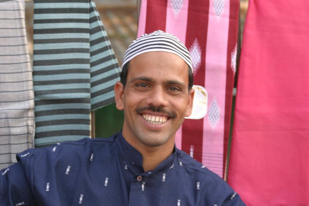 Katukauppias Intiassa.