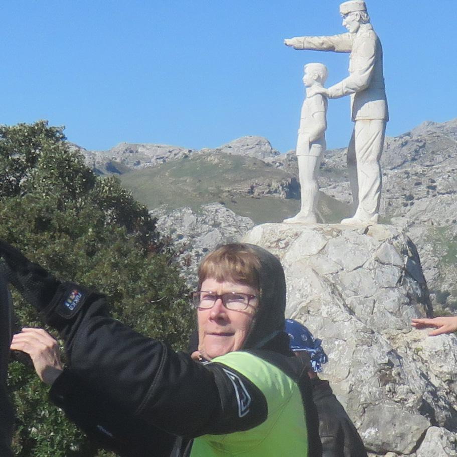 Marjatta Sierra De Las Nievesin luonnonpuistossa!