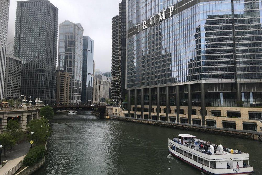 Jokiristeily on erittäinkin mukava tapa tutustua Chicagoon.