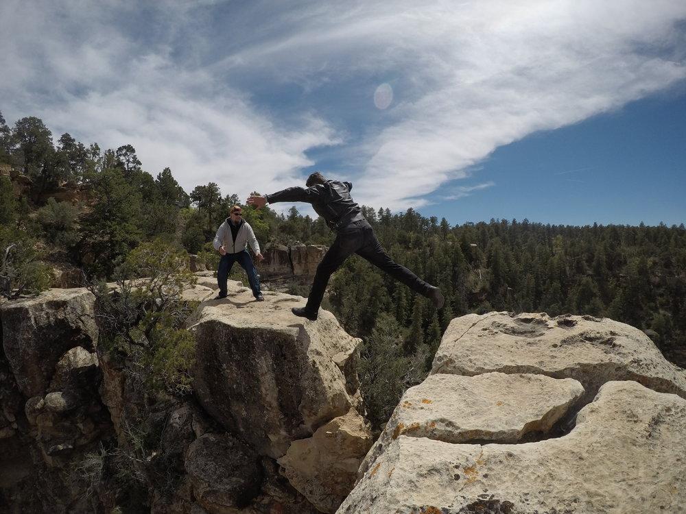 Jari innostui tutkimaan kanjonia hieman tarkemmin. Antti varmistaa :)