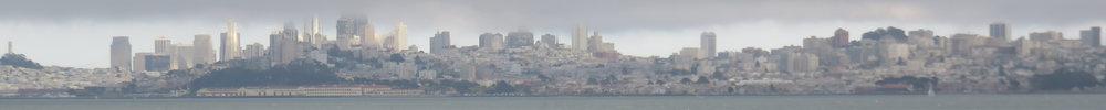 San Francisco meren ja pilvien välissä!