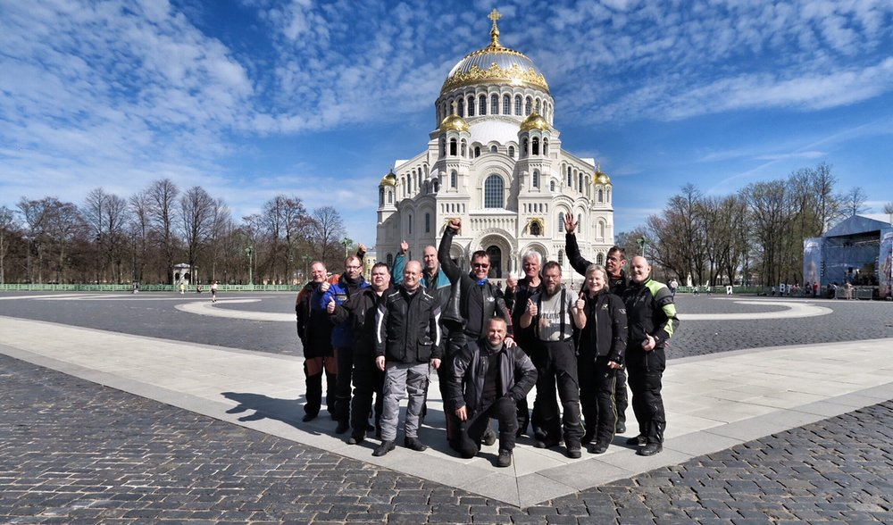 Pyhän Nikolain laivastokatedraali Kronstadtissa