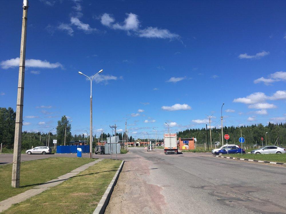 Värtsilän, eli Venäjän puoleinen rajatarkistus - tämän kuvan takia melkein sain sakot! Ei saa kuvata :)