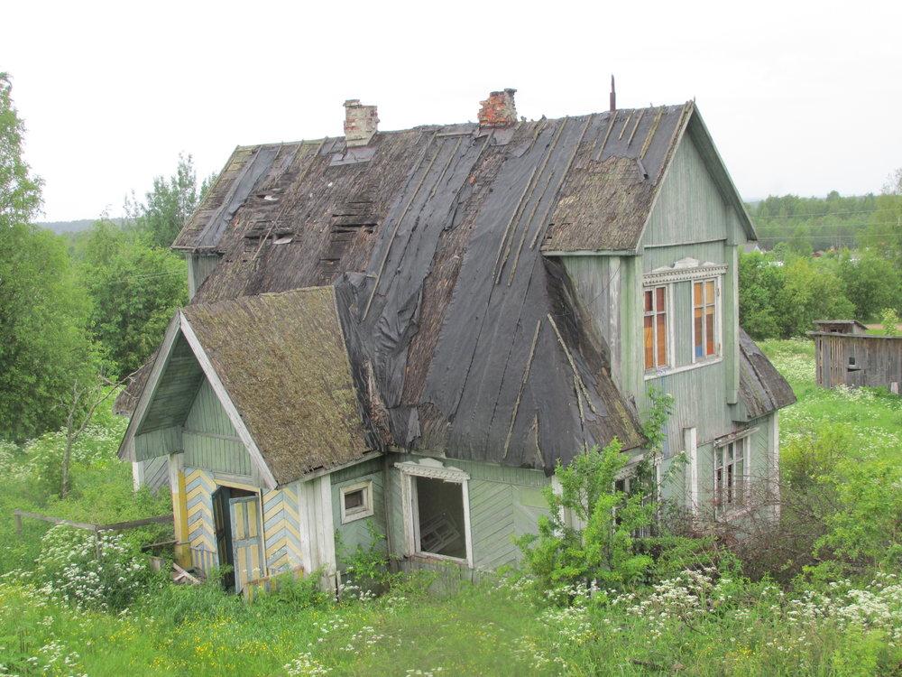 Olin joskus hieno talo!