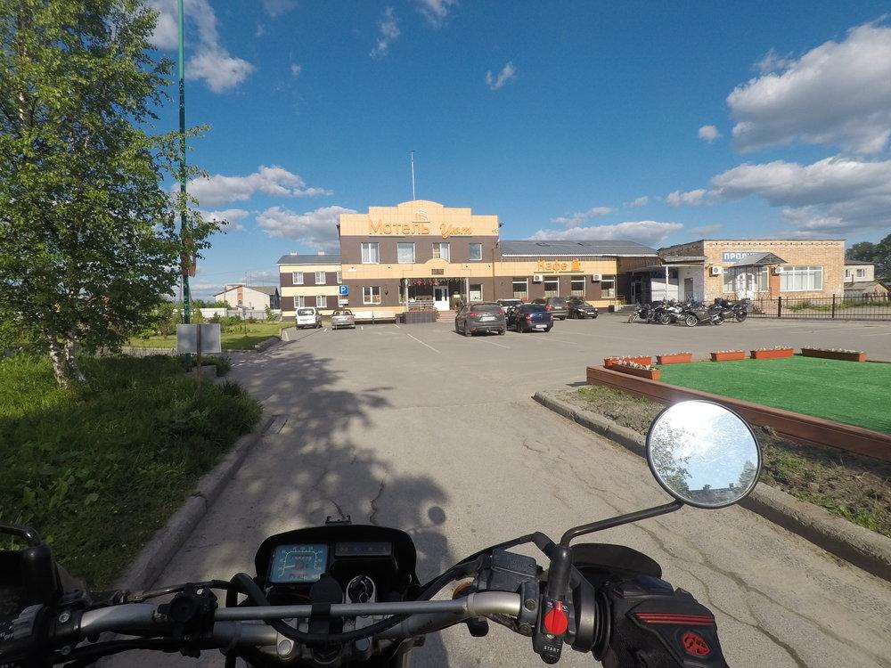 Motel Yut - kiva pysähdyspaikka...