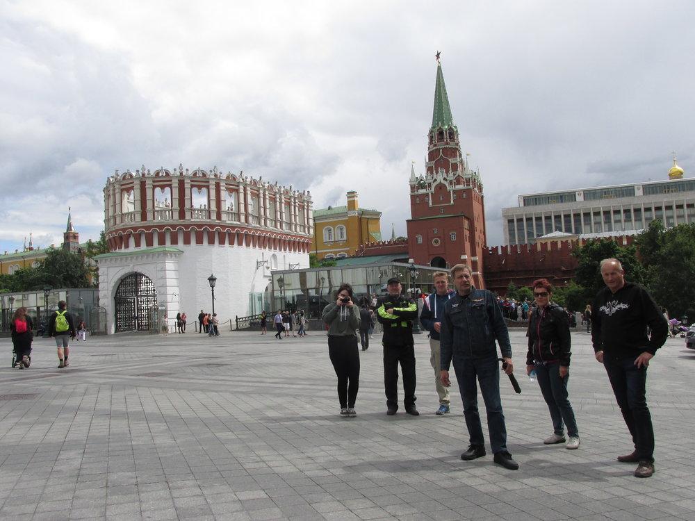 Tavoite täytetty – Moskovassa!