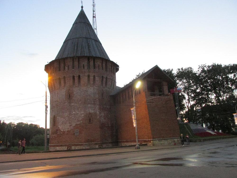 Historian havinaa Smolenskissa.