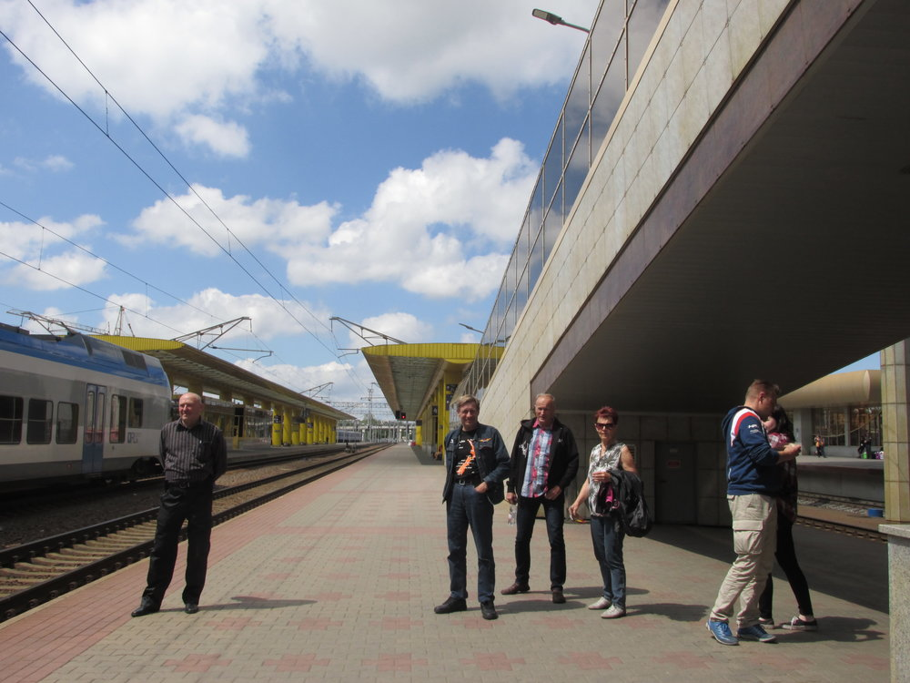 """""""Mihin lähdetään?"""" Minskin rautatieasemaa ihmettelemässä!"""