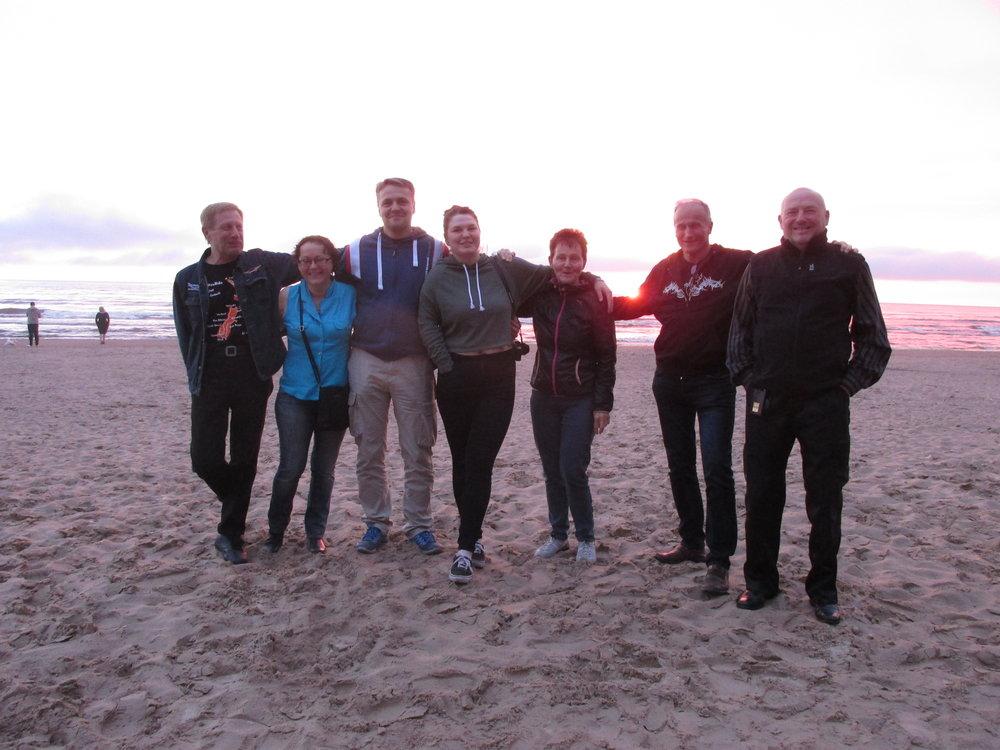 Loistava reissu – viimeinen ilta yhdessä Narva-Joesuun auringonlaskussa