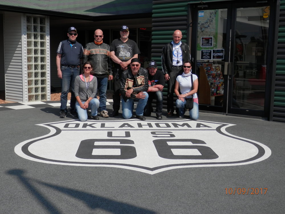 Route66++ ryhmäkuva. Se virallinen
