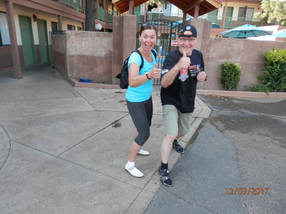 Maise ja Janne harrastavat liikuntaa vapaapäivänä mm. pyöräilemällä.