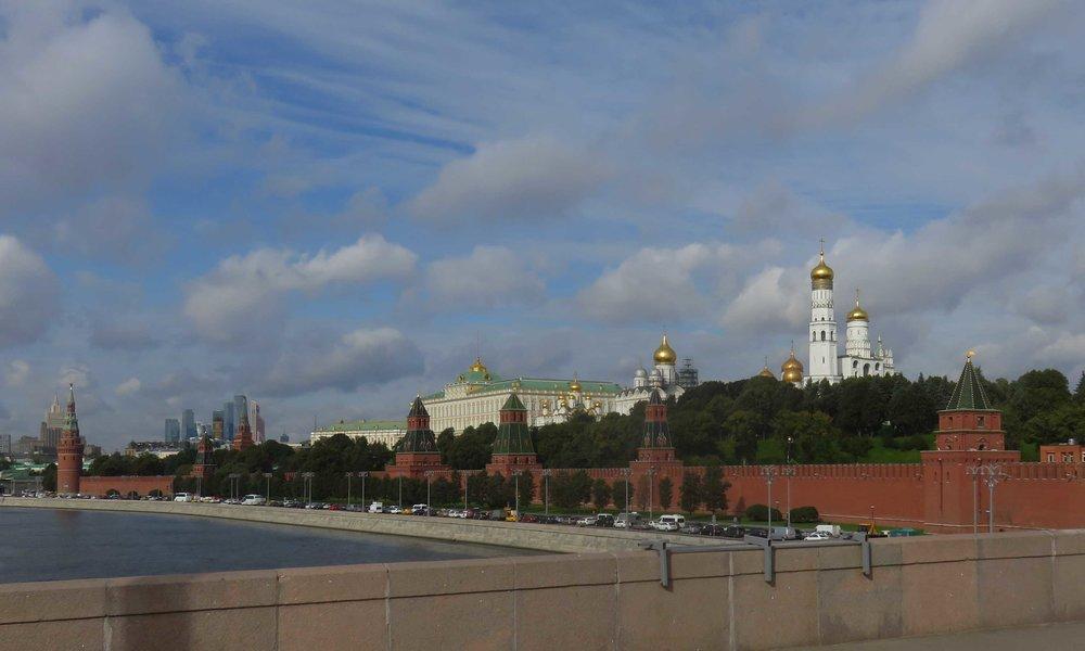 Kreml, Venäjän vallan keskus!