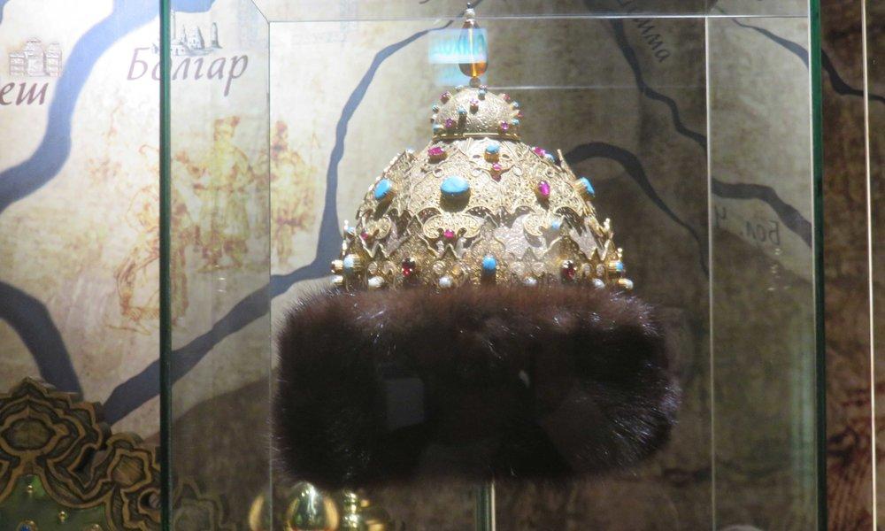 ... kruunu Tatarstan historian museossa!