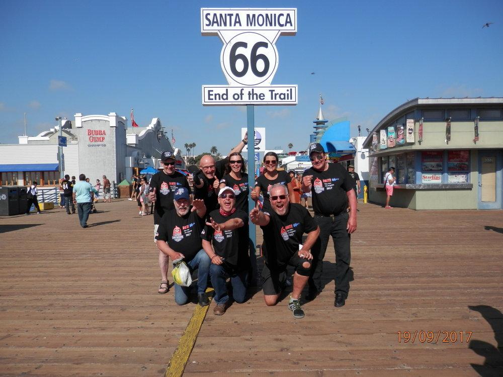 Me teimme sen! Ajoimme Route 66 tien ja vielä parit plussat päälle. Tässä vielä esittelykierros: