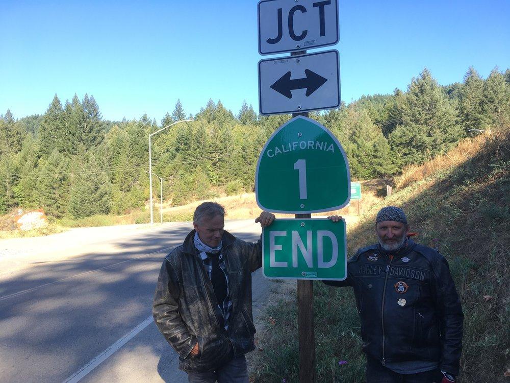 Tien pohjoinen päätepiste on U.S. Route 101:n liittymä Leggettin kaupungin lähistöllä Mendocinon piirikunnassa.