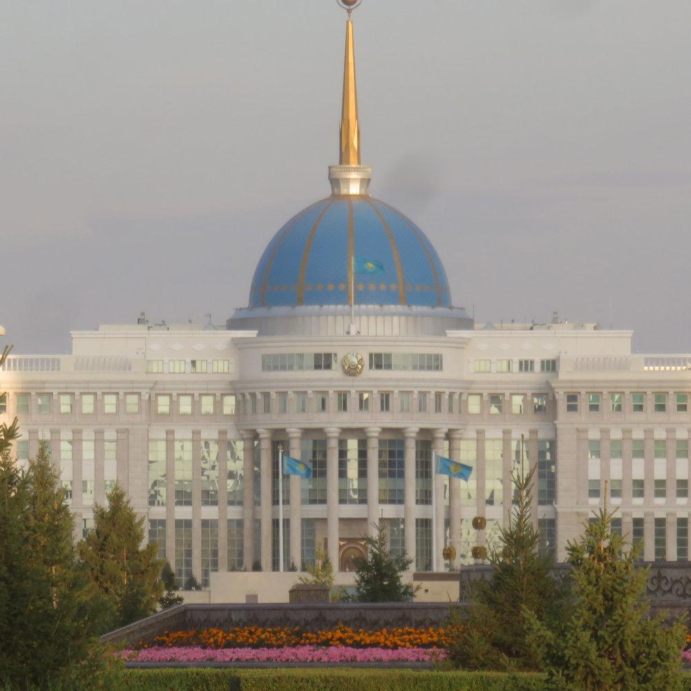 Presidentin palatsi!