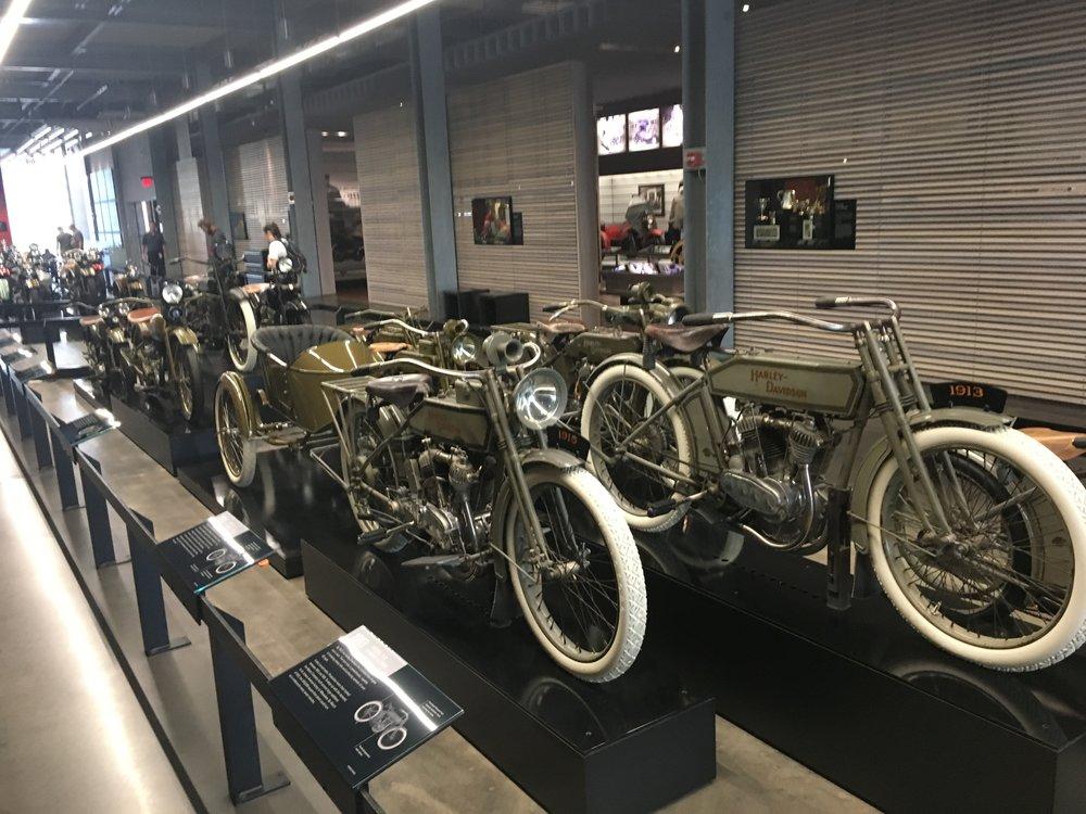 Pyöriä riitti ihmeteltäväksi HD -museolla