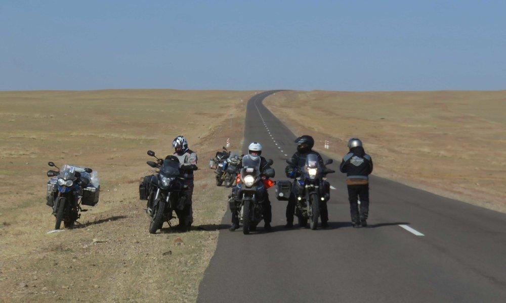 Ulan-Bator - Dalanzagnad Highway!