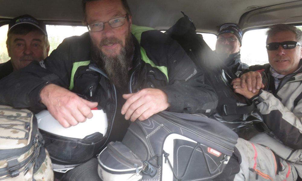 Eikun minivan taksilla cityyn! :)