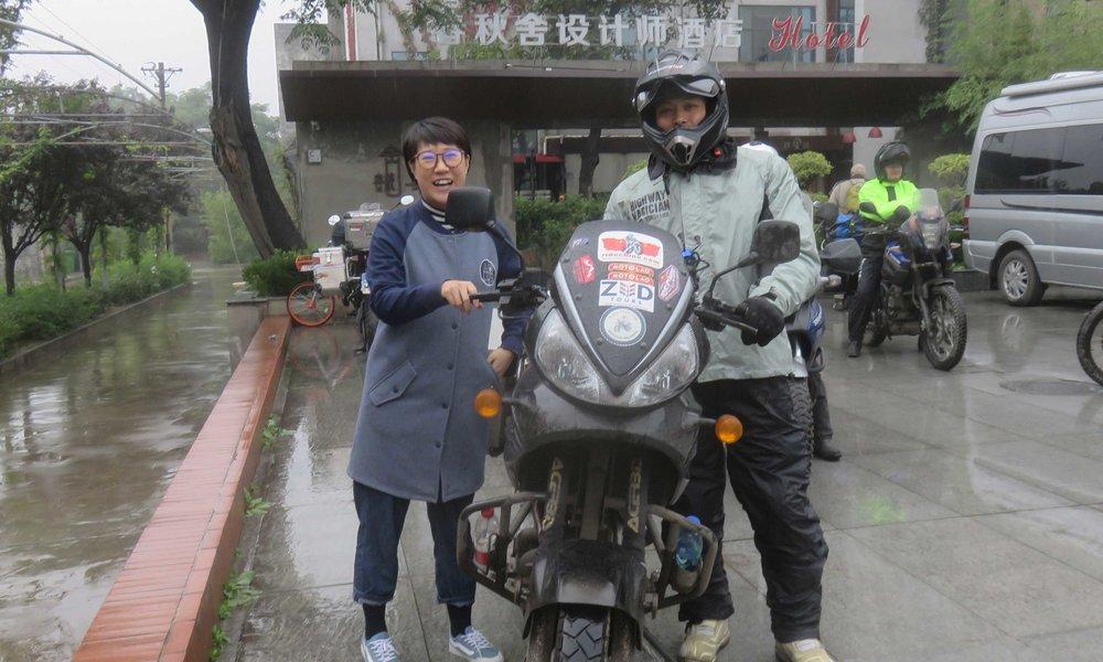 Time Tunel Diggerin Karen ja meidän Mr. Wang!