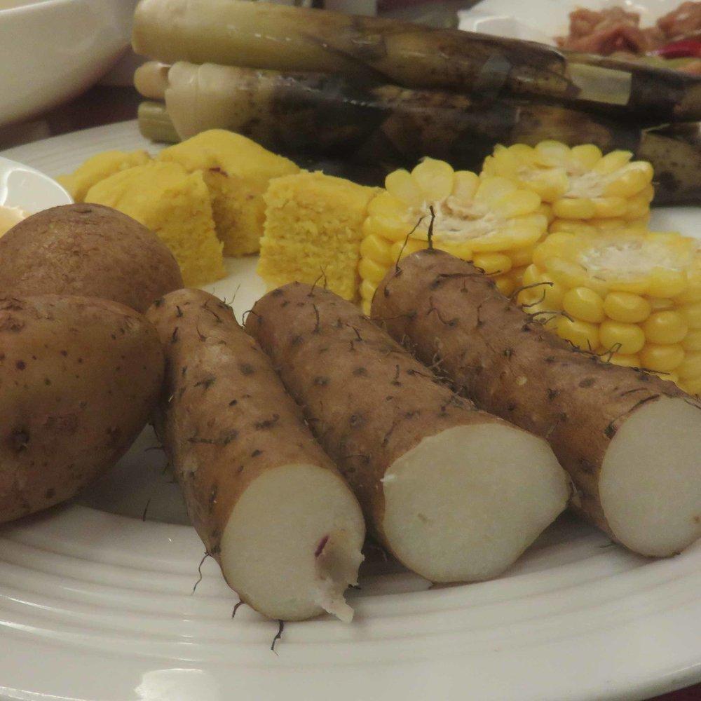 Kaikkea sitä tulee tilattua... Keski-Kiinalaisia karvavarsi perunoita!