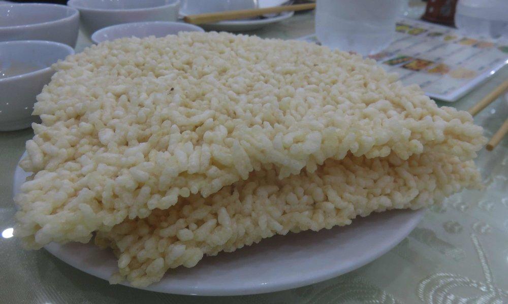 Burned Bread... on jotakin samaa kuin yhteen liimattuja riisimuroja! :]