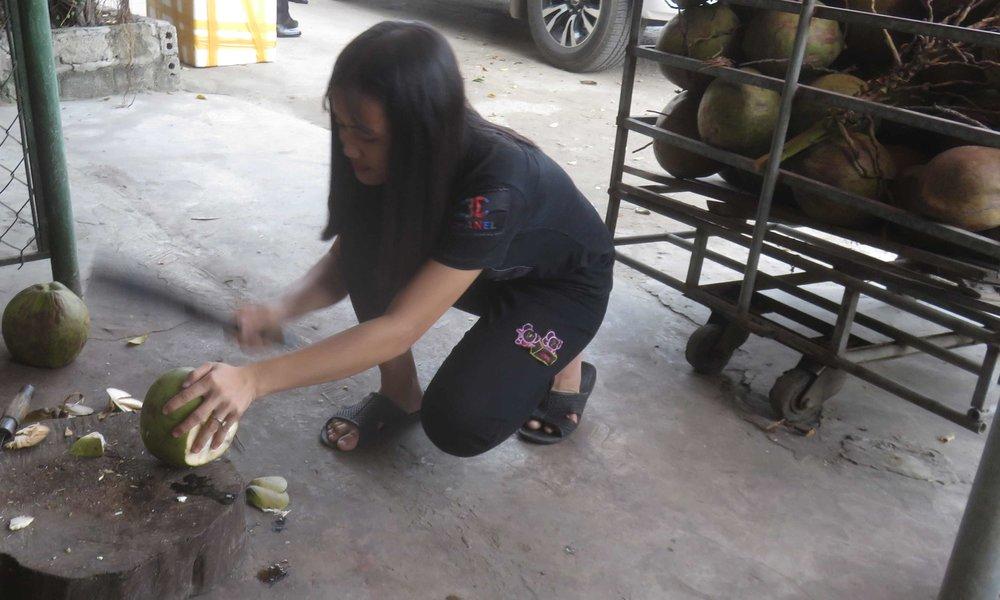 Coconut tauko.