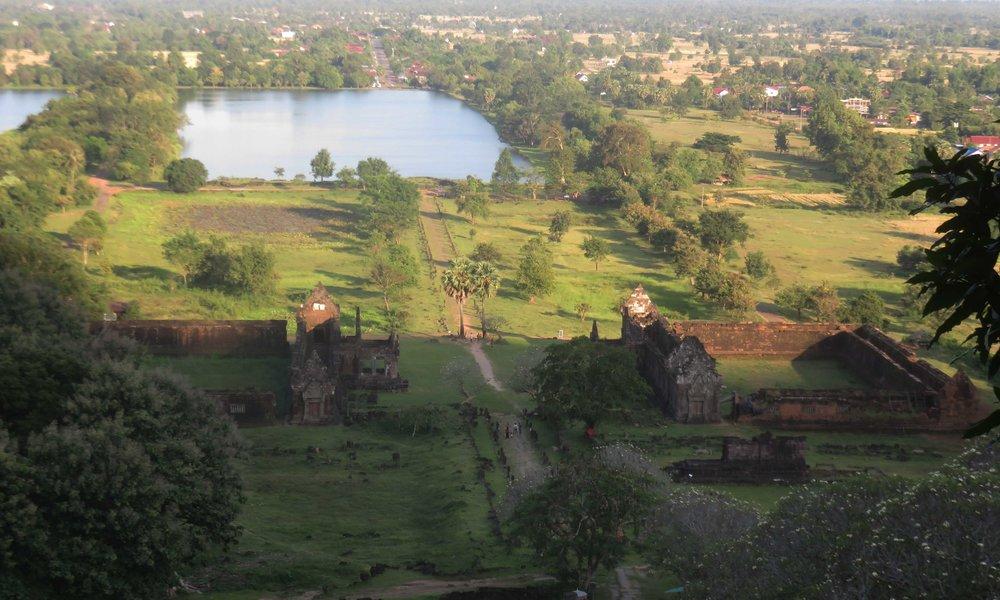 Wat Phu. Agkor Watin pikkuveli Laosissa!