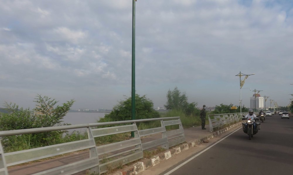 Mekongin rantaa!